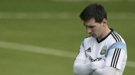 Lionel Messi, preocupado