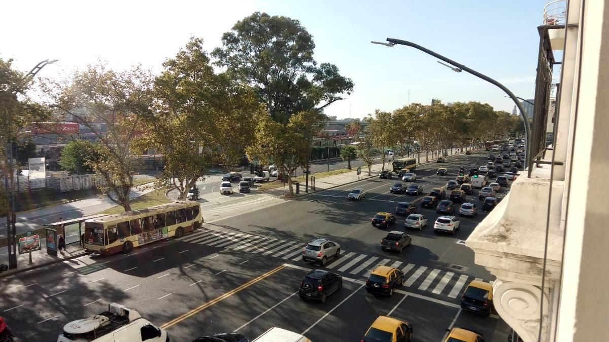Avenida del Libertador y Callao