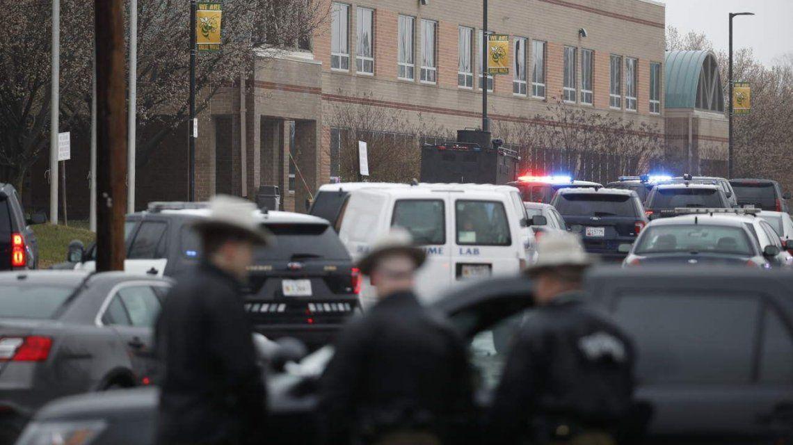 Nuevo tiroteo en un colegio secundario de Maryland, Estados Unidos