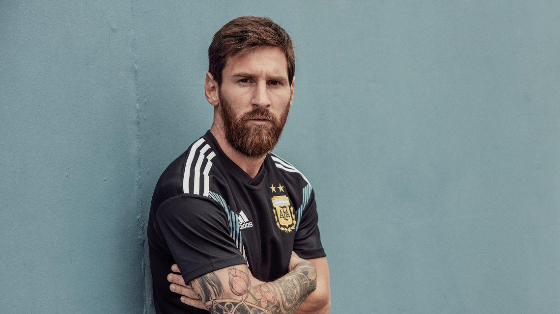 La Selección tiene una nueva camiseta suplente para el Mundial y la estrenará en los amistosos