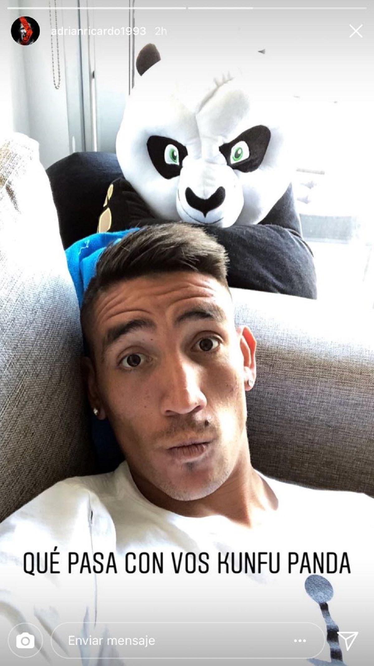 Ricardo Centurión en Instagram