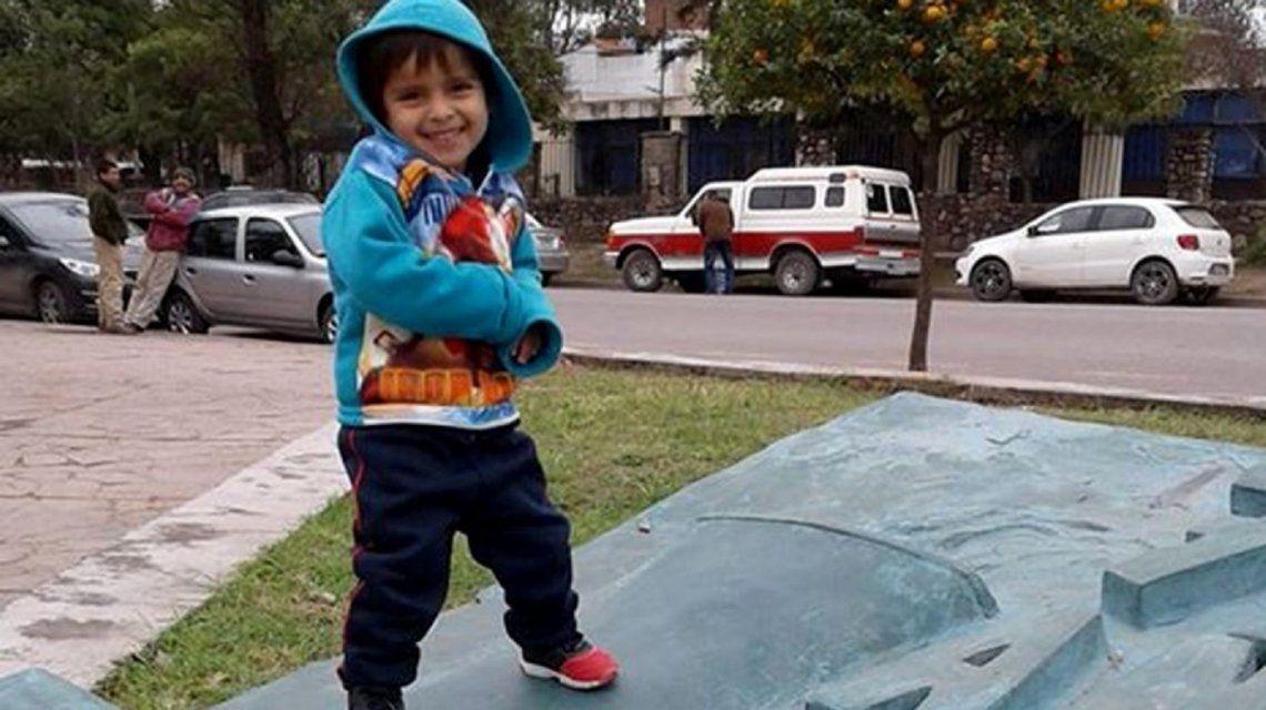 Alexis Mamani. La mamá del nene de tres años