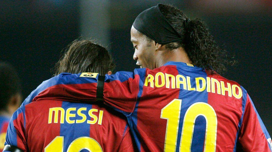 Ronaldinho se afilió al partido político de la Iglesia Universal y podría ser candidato