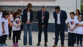 Macri usó medias de diferente color por el Día Mundial del Síndrome de Down