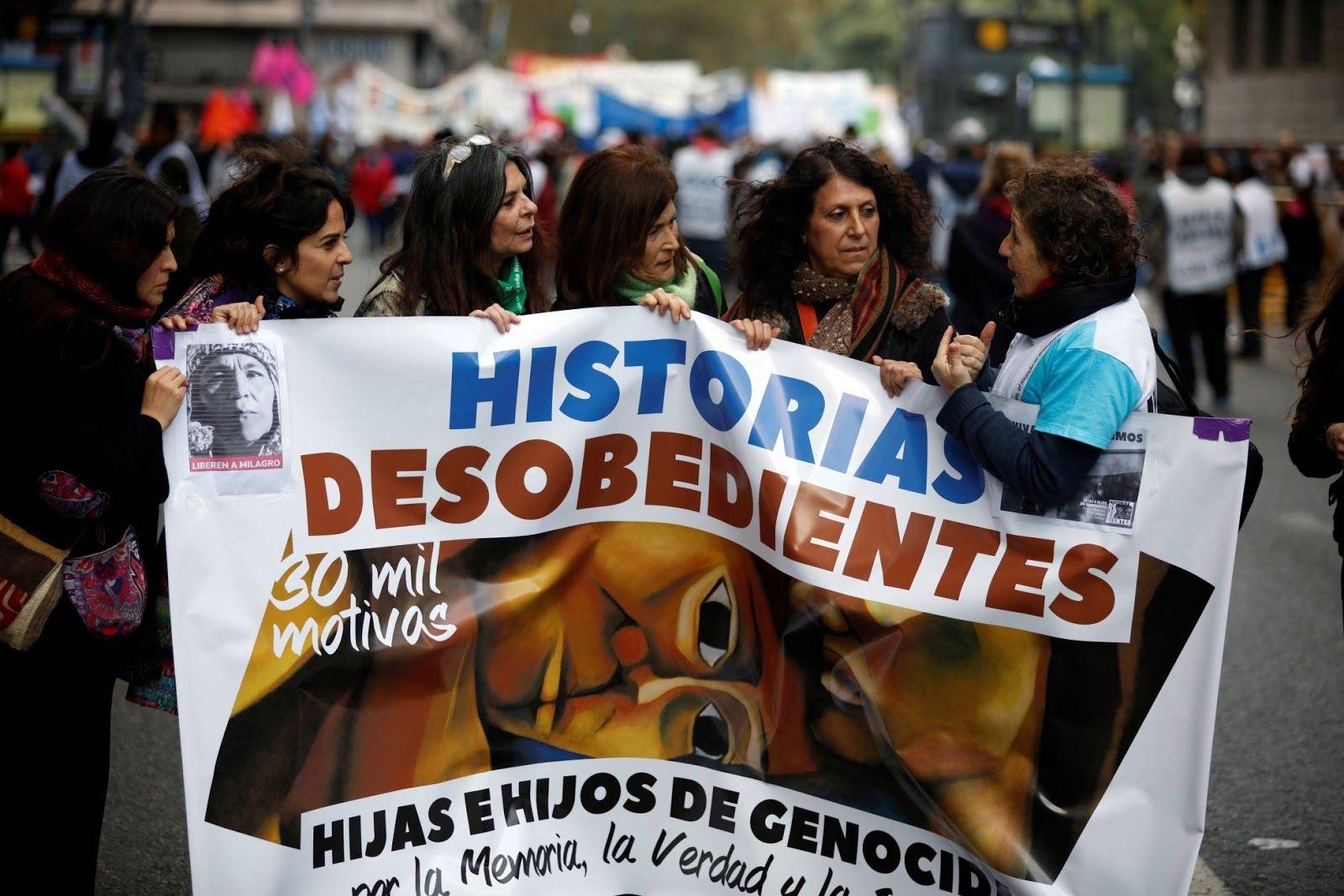 Día Nacional de la Memoria por la Verdad y la Justicia: los familiares de los genocidas marchan por primera vez a Plaza de Mayo