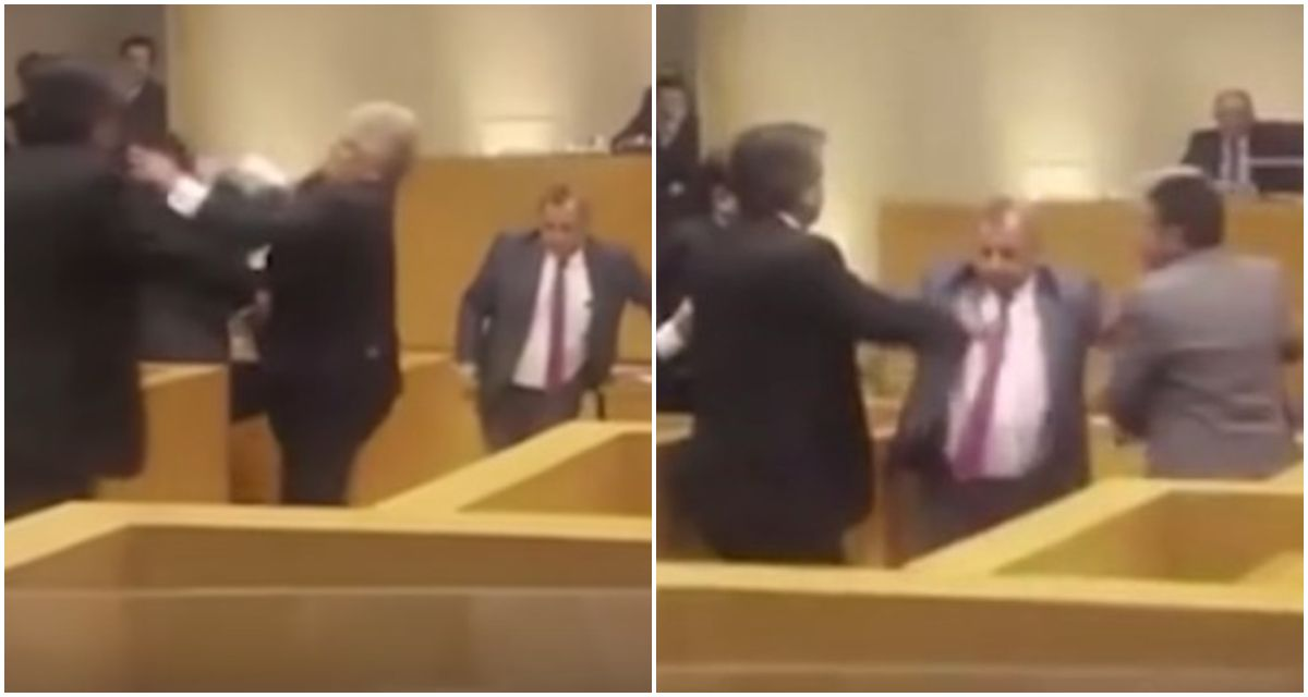 Video: Se agarraron a las piñas en plena sesión del Concejo Deliberante de Tucumán