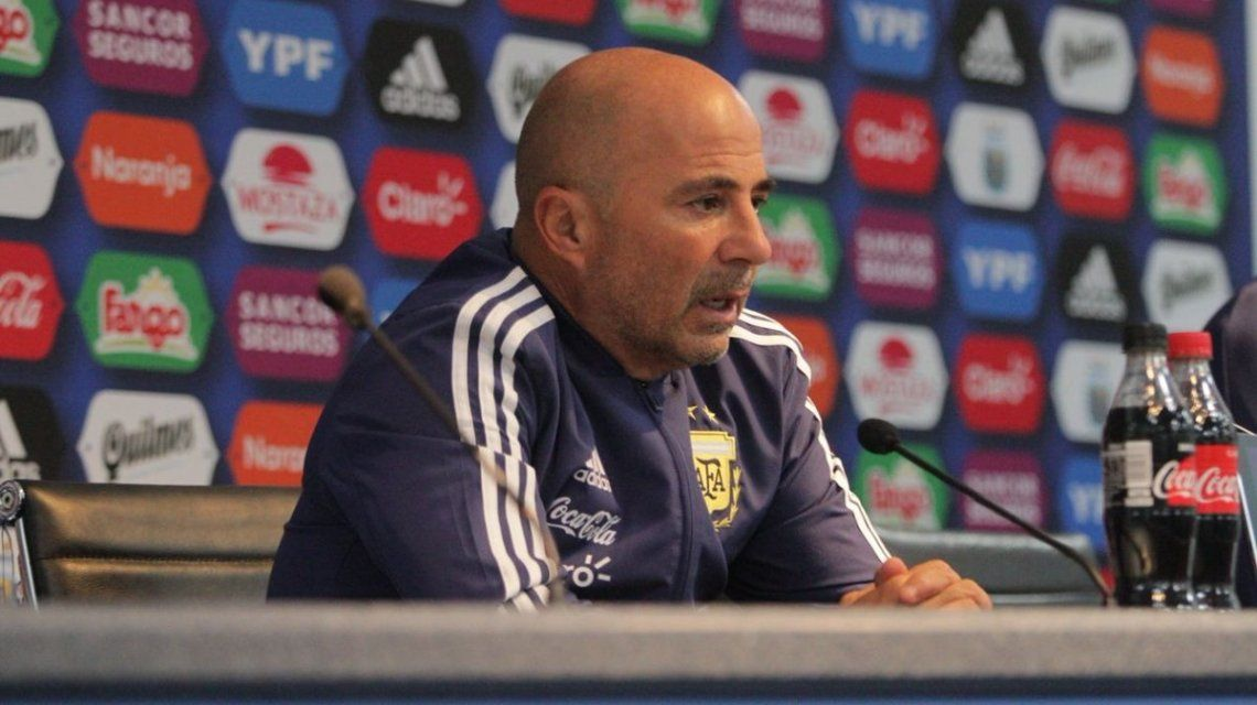 Sampaoli: Ésta es la Argentina de Messi, no la mía