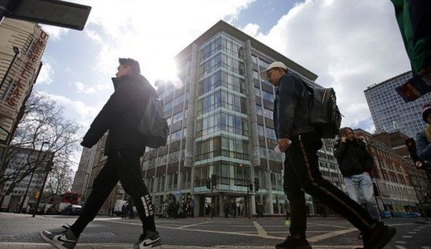 <p>Las oficinas de Cambridge Analytica</p>