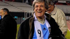 Murió El Loco René Houseman, campeón del mundo en el 78