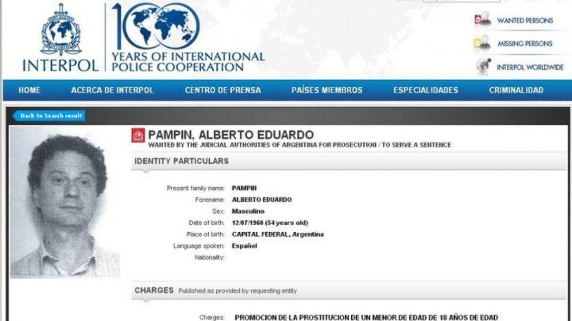 Alberto Pampín fue condenado a cinco años de cárcel por abusar de una chica de 14 años