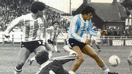 Diego Maradona y René Houseman - Crédito: Instagram @maradona