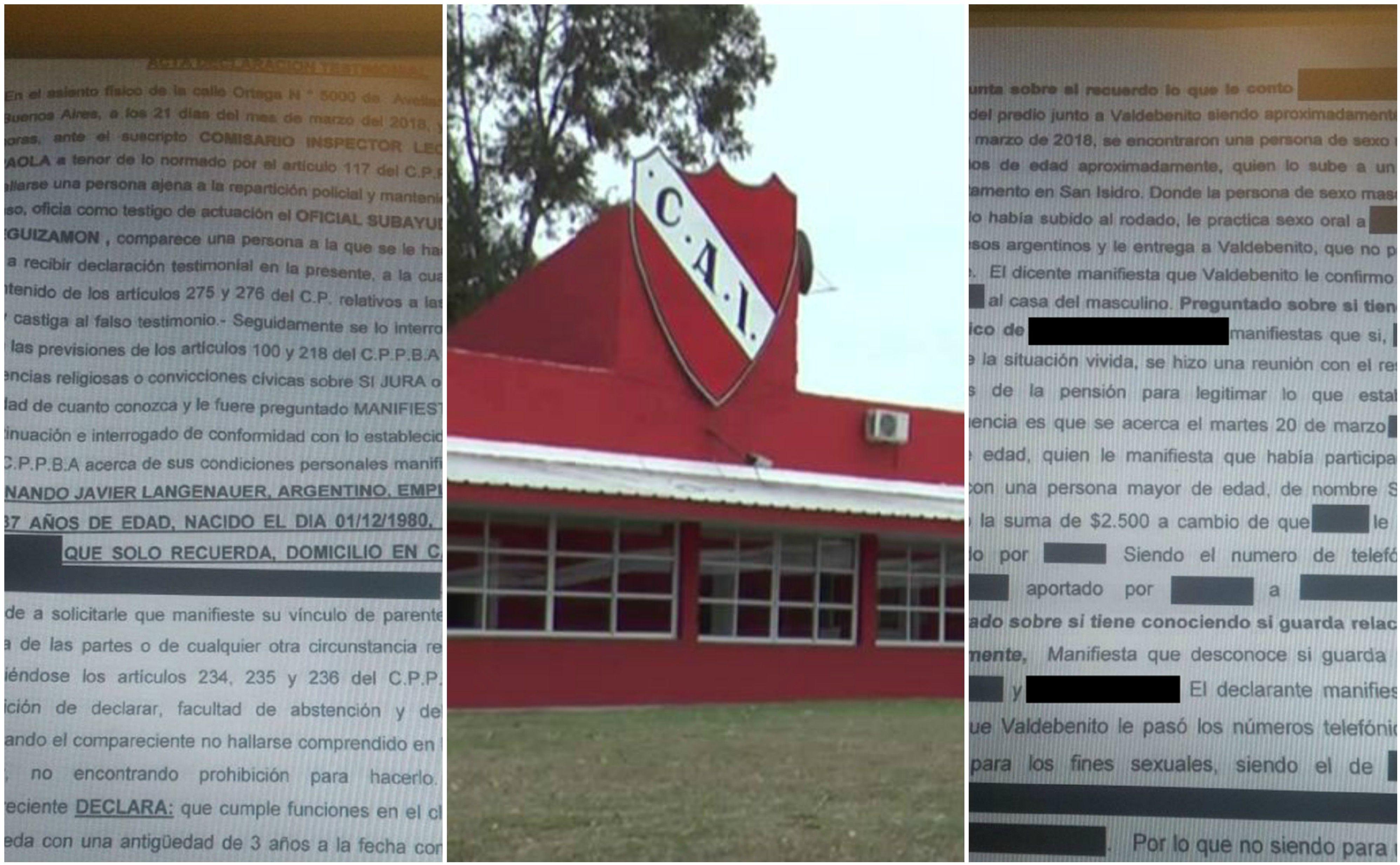 La pensión de Independiente y las dos hojas de denuncia que trascendieron