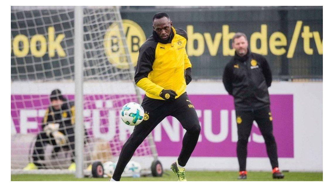Usain Bolt en el Borussia Dortmund