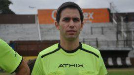 Martín Bustos, el juez de línea involucrado