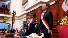 Vizcarra juró este 23 de marzo como presidente de Perú
