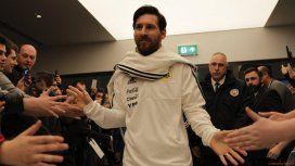Messi confirmó que no juega con Italia