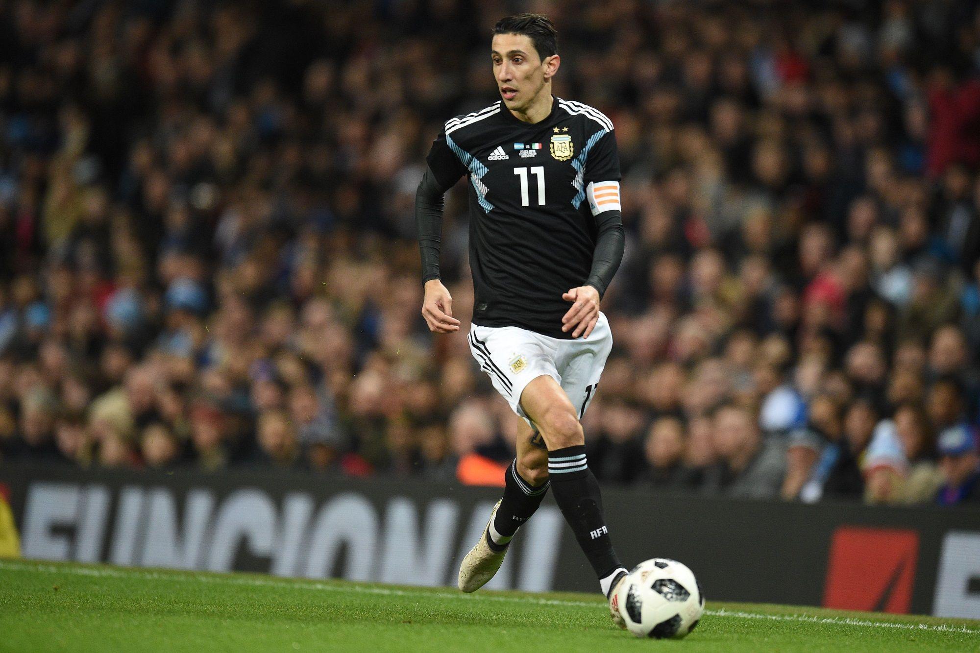 Otra vez lo mismo: Di María se lesionó y no jugará ante España