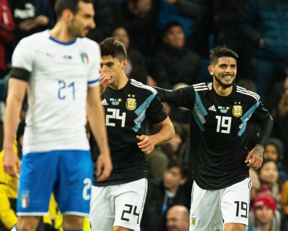 ¡Buffon en modo estatua!: El golazo de Banega para Argentina ante Italia