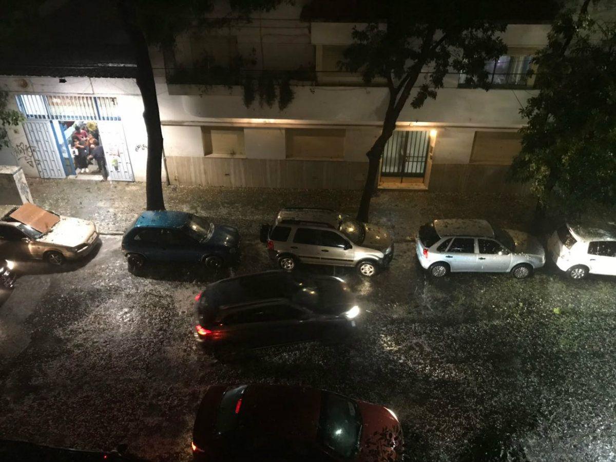 Granizó en Buenos Aires y alrededores