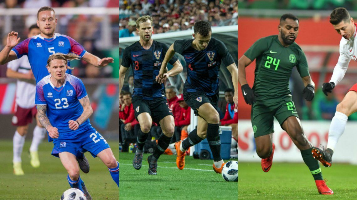 Mala jornada para los rivales de Argentina