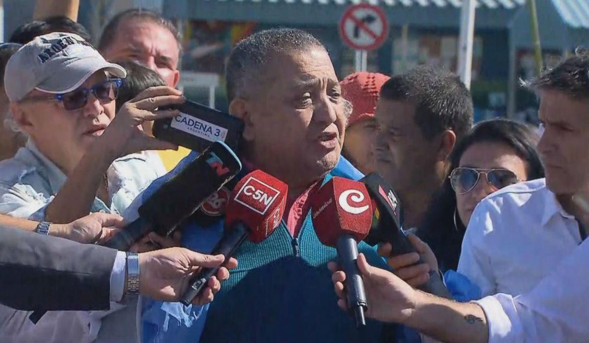 Toma de la comisaría de La Boca: Luis DElía se entregó en Comodoro Py