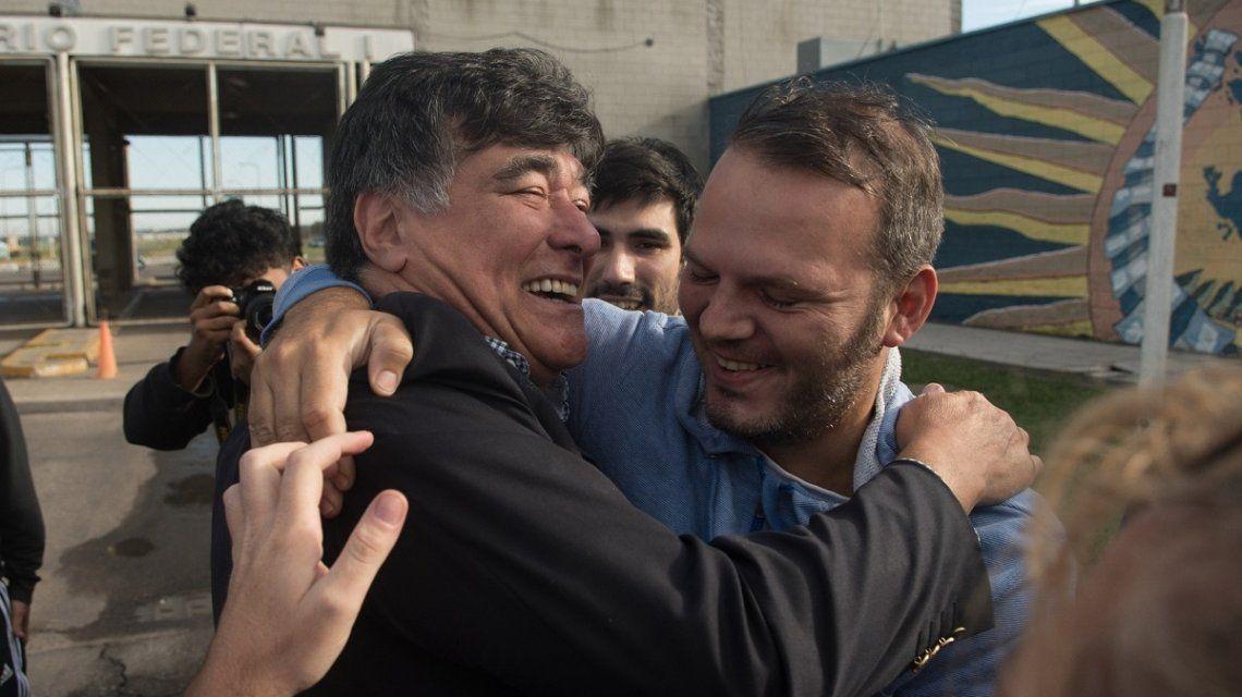 Carlos Zannini se quebró al salir de la cárcel