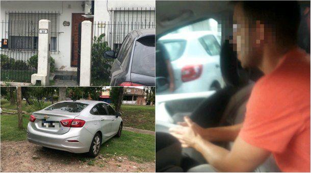 Bustos fue detenido en una casa de Los Troncos del Talar<br>
