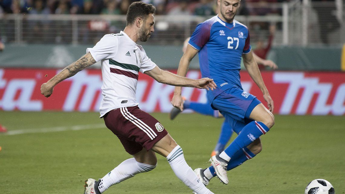 México vs Islandia - Crédito:@miseleccionmx