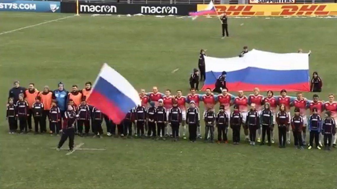 Selección de rugby de Rusia