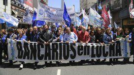 Encabezados por Sergio Palazzo, los bancarios reclaman un aumento por encima de la pauta oficial