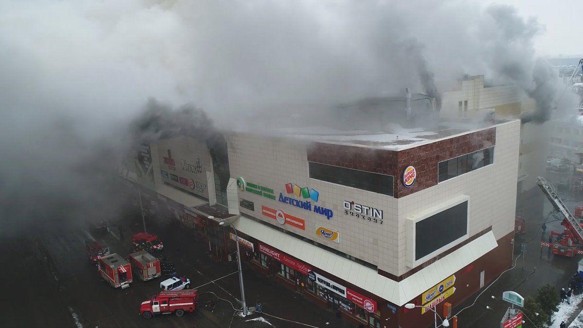 Las llamas destruyeron más de mil metros cuadrados