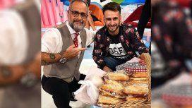 Maxi, el joven de los sandwiches, llegó a la TV y le vendió a Rial