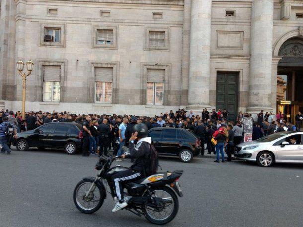 Parte de la Policía Federal no quiere pasar a la Ciudad - Crédito: @DDHHPOLICIALES
