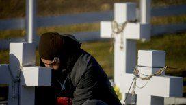 En el Día del Veterano y de los Caídos en la Guerra de Malvinas, Macri recibe a familiares de soldados