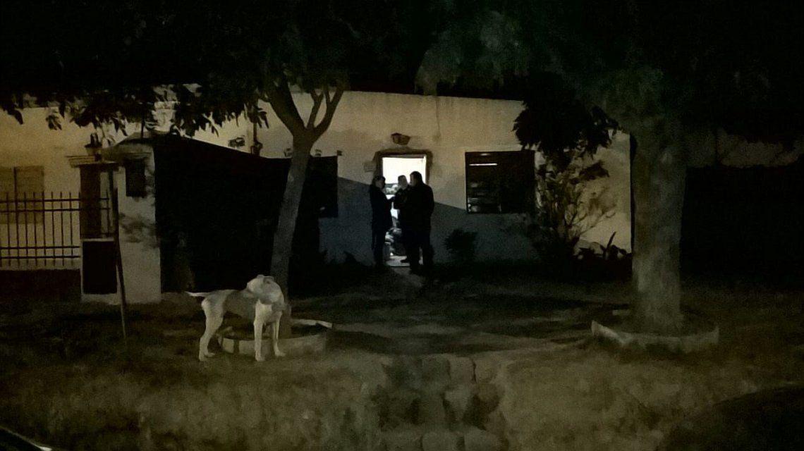 Esta es la casa donde estuvieron cautivas las víctimas