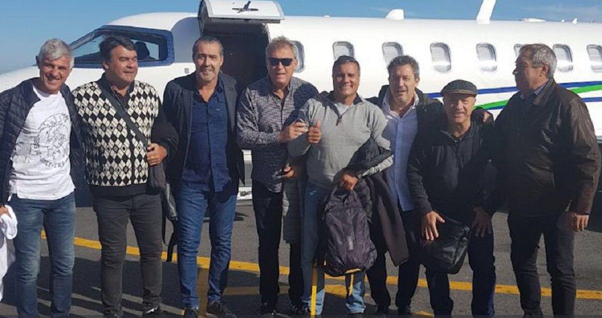 Ahora sí: los campeones del 86 viajaron a Tilcara para romper con la maldición