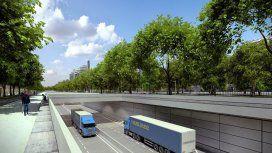 Sorpresa: el nuevo Paseo del Bajo tendrá peaje para camiones y micros