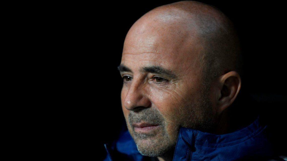 ¿Conflicto en puerta? Sampaoli se reunió con Armani y Enzo Pérez y Gallardo se enojó