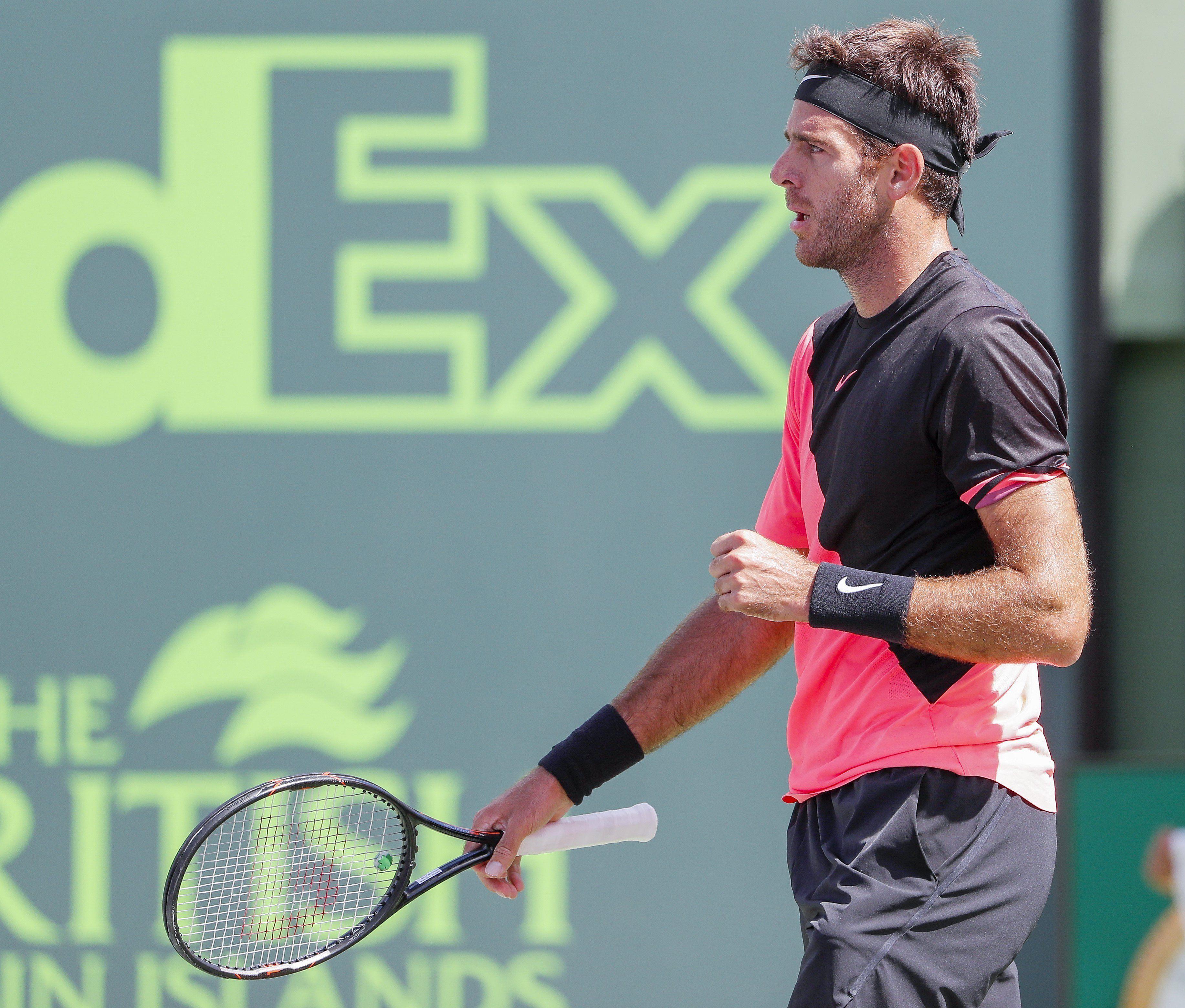 Delpo necesita ganar el torneo para alcanzar el 3° puesto del ranking ATP