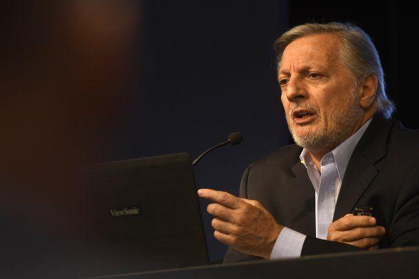 Juan José Aranguren, ministro de Energía y Minería<br>
