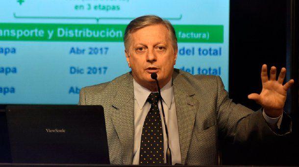<p>Ministro de Energía, Juan José Aranguren</p>