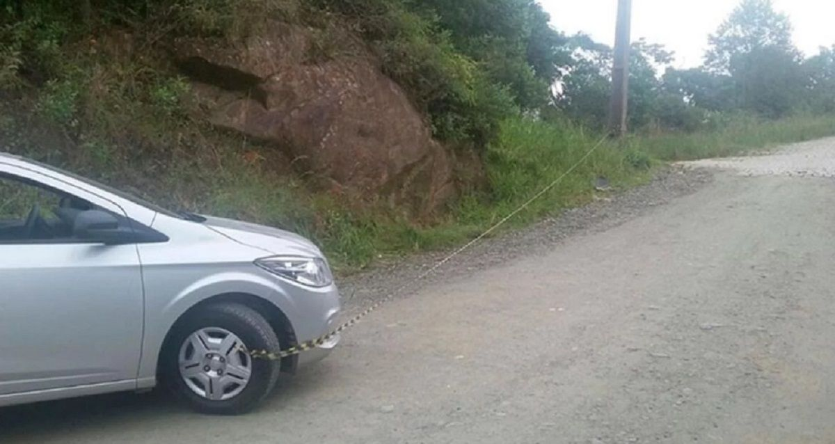 El conductor no pudo detener el vehículo