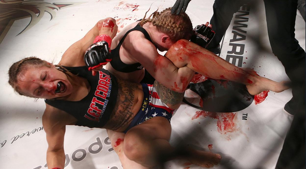 Hansen sufrió la brutalidad de su rival