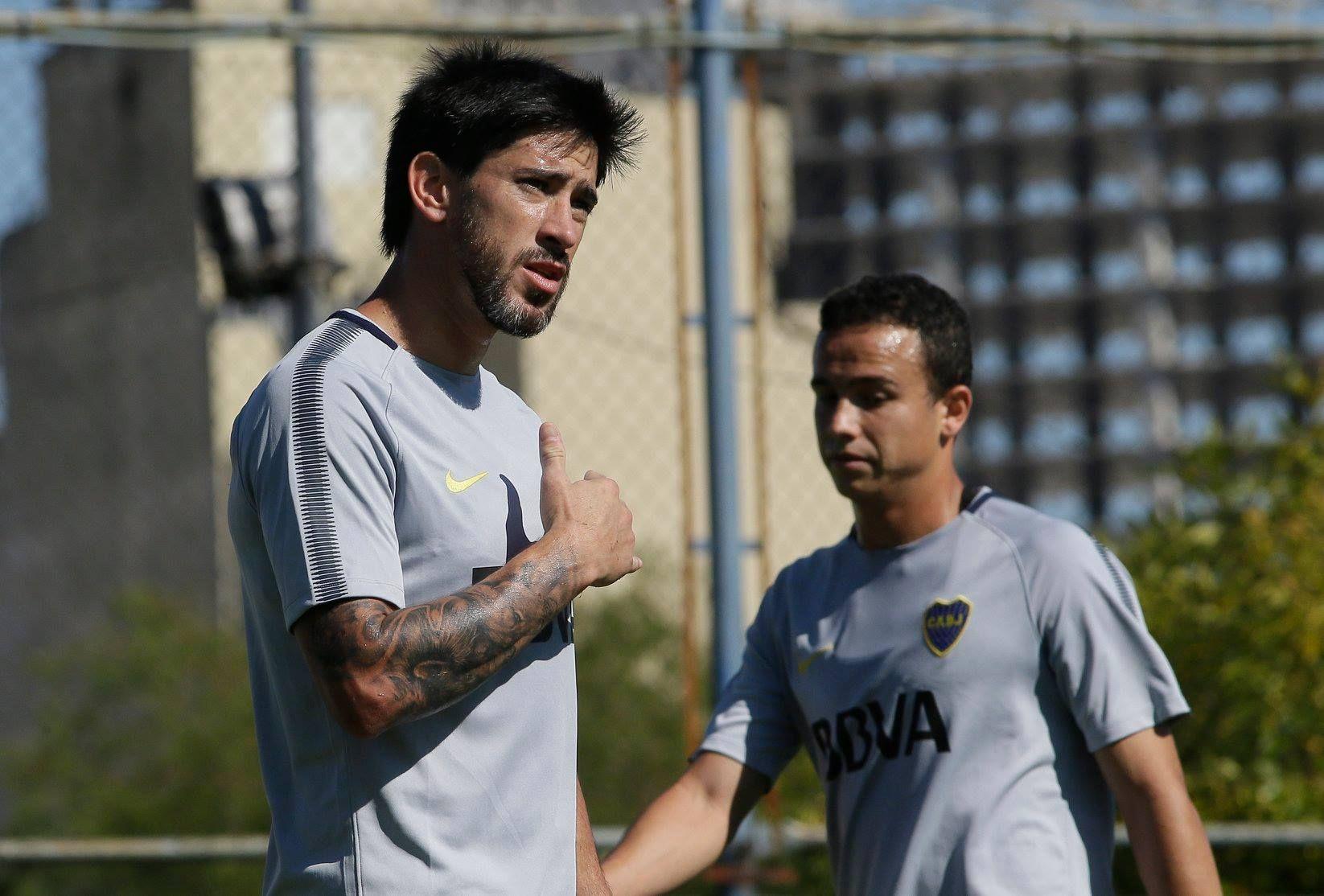 Pablo Pérez en Boca - Crédito: Facebook Boca