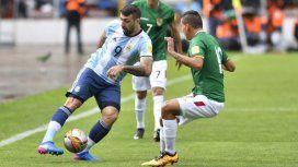 Pratto en la Selección Argentina - Crédito:@Argentina