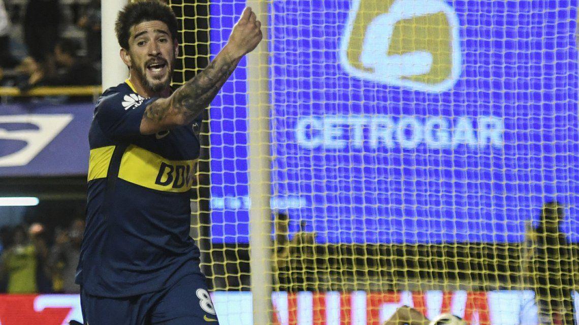 ¿A quién se lo dedicó? Pablo Pérez y un polémico grito tras el gol para la victoria de Boca
