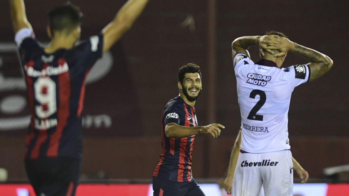 San Lorenzo le ganó a Lanús y quedó a un paso de ser escolta de Boca
