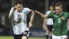 Lionel Messi ante Bolivia que finalmente no será rival