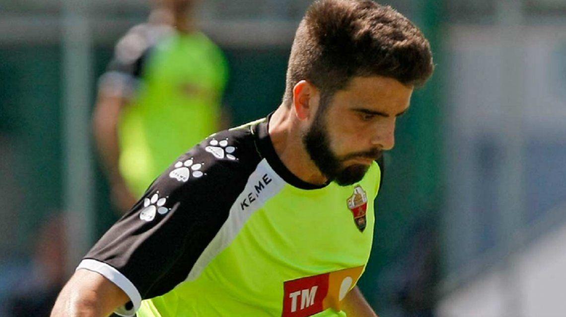 El futbolista Pelayo Novo cayó al vacío desde el tercer piso de un hotel