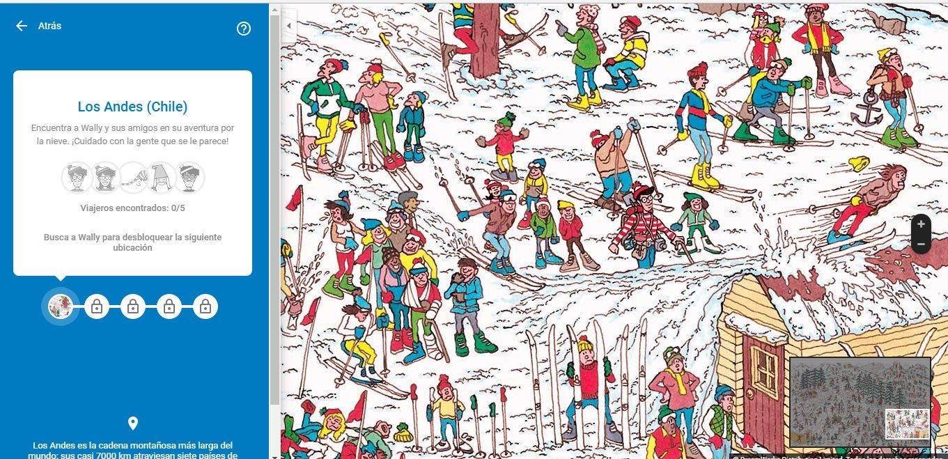 Un guiño a la infancia: cómo jugar ¿Dónde está Wally? en Google Maps